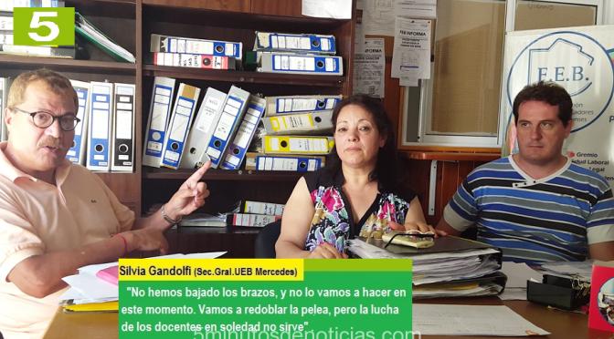 """SILVIA GANDOLFI: """"LA GOBERNADORA VIDAL NO CUMPLIÓ CON LO PAUTADO EN LA PARITARIA DE MARZO"""""""
