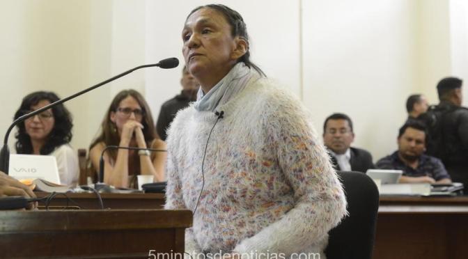 """TRES AÑOS DE PRISIÓN EN SUSPENSO PARA MILAGRO SALA POR EL """"ESCRACHE"""" A MORALES"""