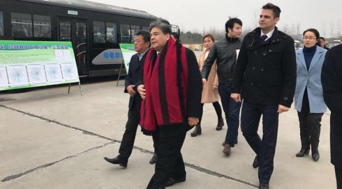 MARIO ISHII EN CHINA FIRMÓ UN CONVENIO HISTÓRICO, GENERARÁ MÁS DE 500 PUESTOS DE TRABAJO EN JOSÉ C. PAZ