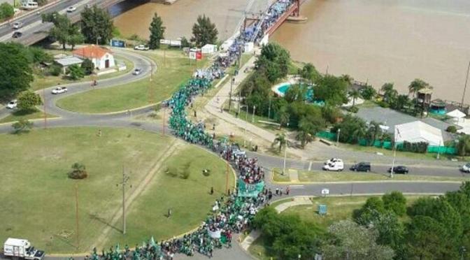 LA MARCHA FEDERAL EDUCATIVA LLEGARÁ MAÑANA A PLAZA DE MAYO