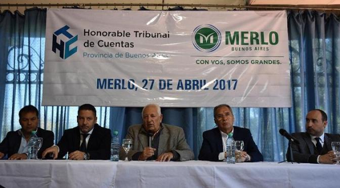 REUNIÓN CON EL TRIBUNAL DE CUENTAS EN MERLO
