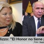 """EL ABOGADO DE LORENZETTI A CARRIÓ: """"HONOR NO TIENE PRECIO"""""""
