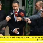 GUSTAVO MENÉNDEZ REALIZÓ 17 DENUNCIAS CONTRA EL NARCOTRÁFICO