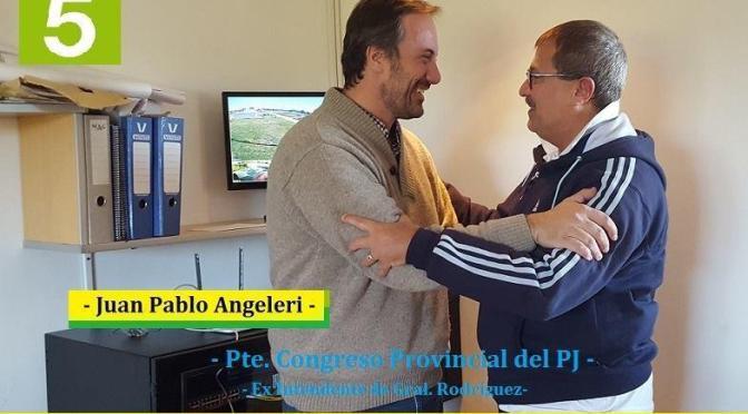 """JUAN PABLO ANGHILERI: """"VAMOS POR LA UNIDAD DEL PERONISMO PARA PONERLE UN FRENO A ESTE GOBIERNO"""""""