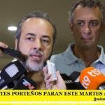 LOS DOCENTES PORTEÑOS PARAN ESTE MARTES 11 DE JULIO