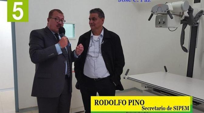 """RODOLFO PINO: """"MARIO ISHII CUMPLIÓ CON LA PROMESA DE INAUGURAR LOS HOSPITALES"""""""