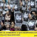 LA CIDH INTIMÓ AL GOBIERNO A QUE RESPONDA EN 10 DÍAS QUE PASÓ CON SANTIAGO MALDONADO