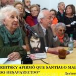 """HORACIO VERBITSKY AFIRMÓ QUE SANTIAGO MALDONADO ES UN """"DETENIDO DESAPARECIDO"""""""