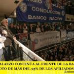 SERGIO PALAZZO CONTINÚA AL FRENTE DE LA BANCARIA CON EL VOTO DE MÁS DEL 95% DE LOS AFILIADOS