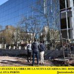 EN MERLO AVANZA LA OBRA DE LA NUEVA GUARDIA DEL HOSPITAL MUNICIPAL EVA PERÓN