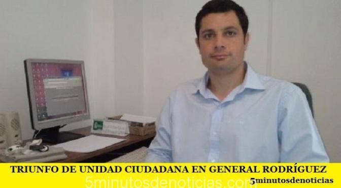 TRIUNFO DE UNIDAD CIUDADANA EN GENERAL RODRÍGUEZ