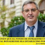 PROPONEN QUE EL FONDO DE INFRAESTRUCTURA MUNICIPAL BONAERENSE SEA ESTABLECIDO POR LEY