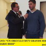 """RONI CAGGIANO: """"UN ORGULLO MUY GRANDE SER PARTE DEL EQUIPO DE MARIO ISHII"""""""