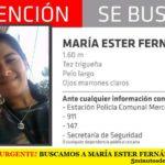¡ALERTA URGENTE! BUSCAMOS A MARÍA ESTER FERNÁNDEZ