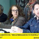 """PABLO ABRAMOVICH: """"REAFIRMAMOS NUESTRA VOLUNTAD DE DIÁLOGO"""""""