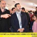 SE INAUGURÓ LA FERIA DEL LIBRO EN MERLO