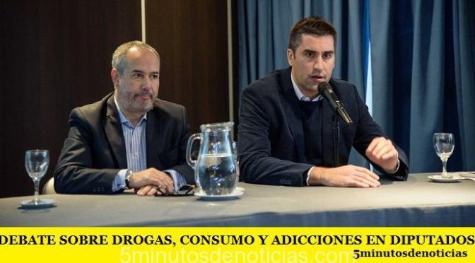 DEBATE SOBRE DROGAS, CONSUMO Y ADICCIONES EN DIPUTADOS PBA