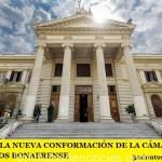 ASÍ SERÁ LA NUEVA CONFORMACIÓN DE LA CÁMARA DE DIPUTADOS BONAERENSE