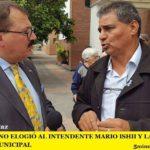 RODOLFO PINO ELOGIÓ AL INTENDENTE MARIO ISHII Y LA LABOR DEL GABINETE MUNICIPAL