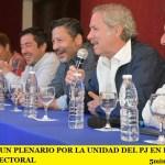 SE REALIZÓ UN PLENARIO POR LA UNIDAD DEL PJ EN LA PRIMERA SECCIÓN ELECTORAL