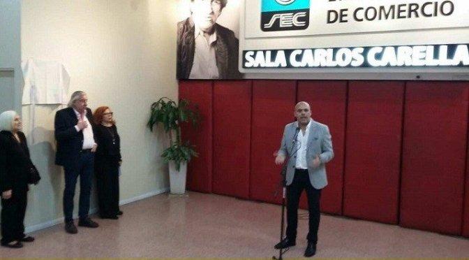 LA LEGISLATURA PORTEÑA POR INICIATIVA DE CLAUDIO HEREDIA HOMENAJEÓ A CARLOS CARELLA