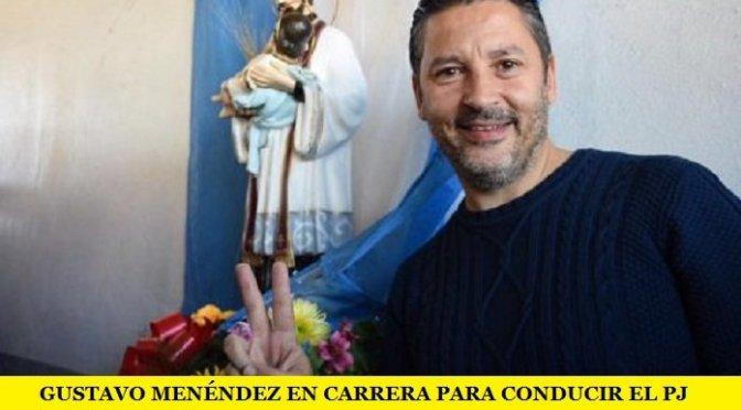 GUSTAVO MENÉNDEZ EN CARRERA PARA CONDUCIR EL PJ BONAERENSE
