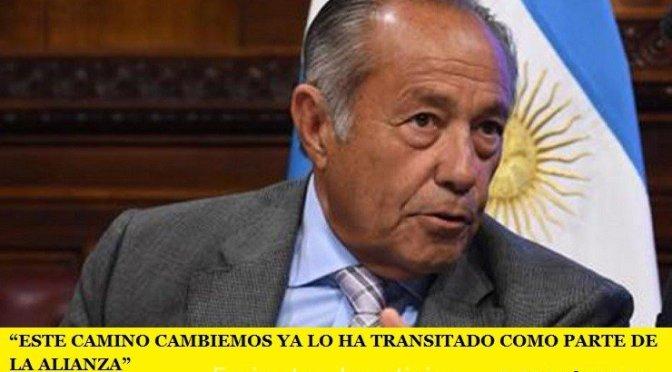 """""""ESTE CAMINO CAMBIEMOS YA LO HA TRANSITADO COMO PARTE DE LA ALIANZA"""""""