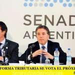 SENADO: LA REFORMA TRIBUTARIA SE VOTA EL PRÓXIMO MIÉRCOLES