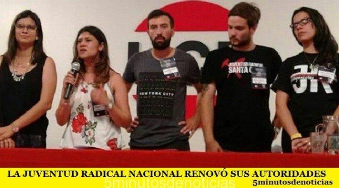 LA JUVENTUD RADICAL NACIONAL RENOVÓ SUS AUTORIDADES