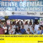LOS DOCENTES BONAERENSES EN ESTADO DE ALERTA Y MOVILIZACIÓN