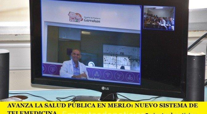 AVANZA LA SALUD PÚBLICA EN MERLO: NUEVO SISTEMA DE TELEMEDICINA