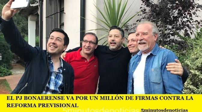 EL PJ BONAERENSE VA POR UN MILLÓN DE FIRMAS CONTRA LA REFORMA PREVISIONAL