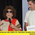 GRACIELA BORGES RECIBIÓ EL PREMIO MARÍA ELENA WALSH