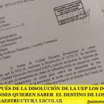 DESPUÉS DE LA DISOLUCIÓN DE LA UEP LOS DOCENTES BONAERENSES QUIEREN SABER  EL DESTINO DE LOS FONDOS PARA INFRAESTRUCTURA ESCOLAR