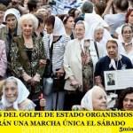 A 42 AÑOS DEL GOLPE DE ESTADO ORGANISMOS DE DDHH REALIZARÁN UNA MARCHA ÚNICA EL SÁBADO