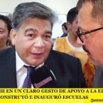 MARIO ISHII Y UN CLARO GESTO DE APOYO A LA EDUCACIÓN PÚBLICA