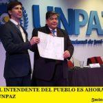 MARIO ISHII EL INTENDENTE DEL PUEBLO ES AHORA DR. HONORIS CAUSA DE LA UNPAZ