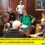 EL SMATA DE PIGNANELLI Y LA UOM DE CALÓ EN DEFENSA DE LOS TRABAJADORES Y LA INDUSTRIA NACIONAL