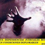 DENUNCIAN QUE DEPENDENCIAS JUDICIALES BONAERENSES SE ENCUENTRAN EN CONDICIONES DEPLORABLES
