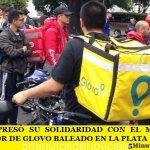ASiMM EXPRESÓ SU SOLIDARIDAD CON EL MENSAJERO REPARTIDOR DE GLOVO BALEADO EN LA PLATA