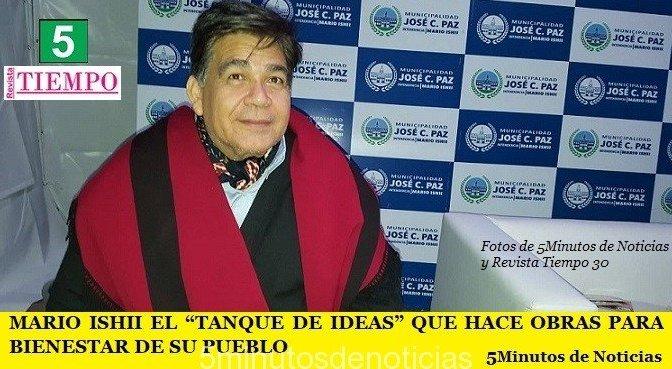 """MARIO ISHII EL """"TANQUE DE IDEAS"""" QUE HACE OBRAS PARA BIENESTAR DE SU PUEBLO"""