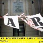 LOS JUDICIALES BONAERENSES PARAN ESTE JUEVES EN TODA LA PROVINCIA