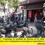 500 DESPIDOS en PedidosYa | Continúa la medida de fuerza en la sede y ASiMM acompaña con firmeza a los trabajadores