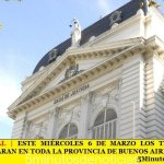 PARO JUDICIAL | ESTE MIÉRCOLES 6 DE MARZO LOS TRABAJADORES JUDICIALES PARAN EN TODA LA PROVINCIA DE BUENOS AIRES
