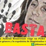 La AJB exige un Poder Judicial con perspectiva de género y la expulsión de Magistrados violentos