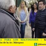 OTRA OBRA PARA LOS MALVINENSES | Se inició la pavimentación de la Av. Márquez