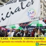 LA AJB RECLAMA URGENTE CONVOCATORIA A DISCUTIR SALARIOS | El gremio en estado de alerta y movilización