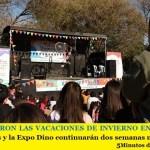 CULMINARON LAS VACACIONES DE INVIERNO EN MERLO | Los juegos y la Expo Dino continuarán dos semanas más