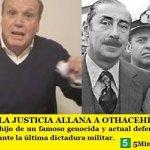 """LA JUSTICIA ALLANA A OTHACEHÉ   """"NUNCA MÁS"""""""