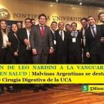 LA GESTIÓN DE LEO NARDINI A LA VANGUARDIA DE LA ATENCIÓN EN SALUD | Malvinas Argentinas se destacó en el 39° Congreso de Cirugía Digestiva de la UCA